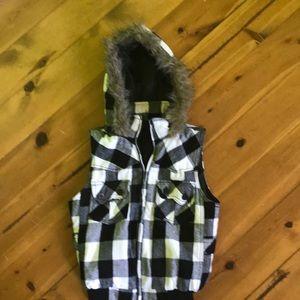 Jackets & Blazers - Hooded vest